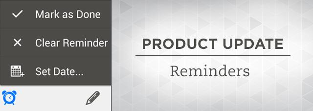 Evernote Reminder para GTD personal